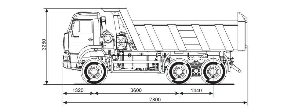 характеристики Камаза-6522