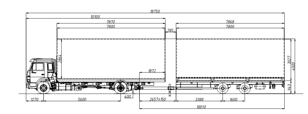 333641 (шасси КАМАЗ-5308